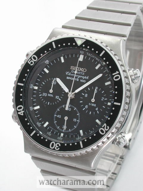 Seiko 7A28 Sports 100 Chronograph